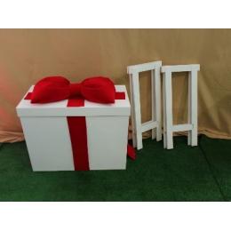 CAIXA SURPRESA MDF (festa na caixa)