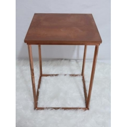 MINI TABLE QUA. M ROSE GOLD