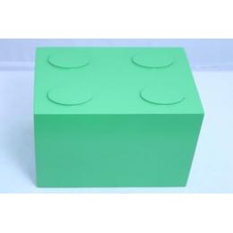CUBO LEGO DE MESA VERDE