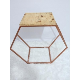 MINI TABLE SEXTAVADA ROSE GOLD M