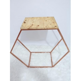 MINI TABLE SEXTAVADA ROSE GOLD P