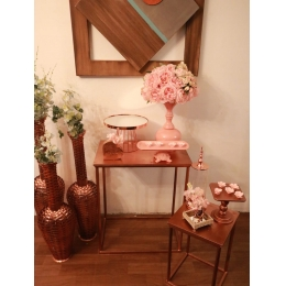 COMBO MINI TABLE ROSE GOLD C ROSE -01