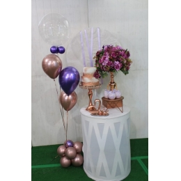 COMBO MINI TABLE LILAS