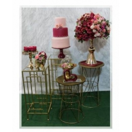 COMBO MINI TABLE DOURADO COM MARSALA -02