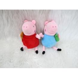 KIT PELUCIA PEPPA PIG  E GEORGE